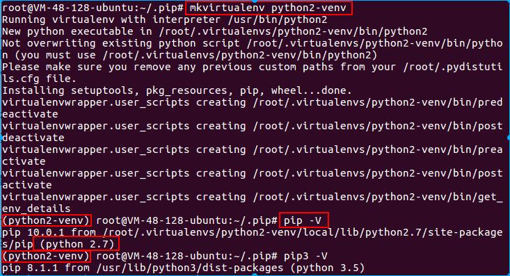 python2虚拟环境
