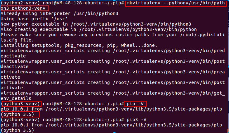 python3虚拟环境